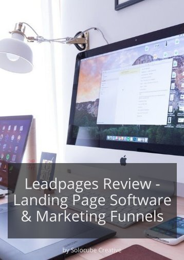 Leadpages Review - Landing Page Software & Marketing Funnels