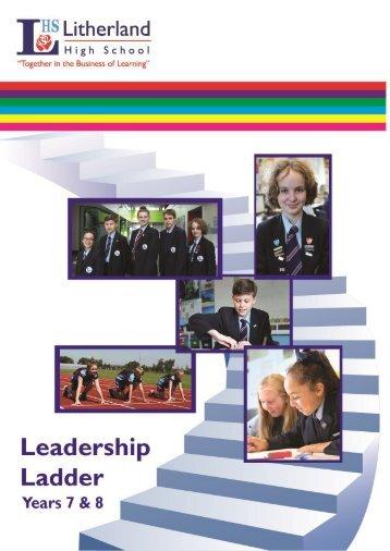 Leadership ladder booklet