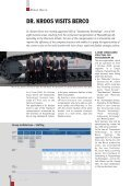 ABOUT BERCO > Dr. Kroos visits Berco FROM THE ... - Berco S.p.A - Page 4
