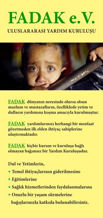 FADAK-Flyer-ön TR
