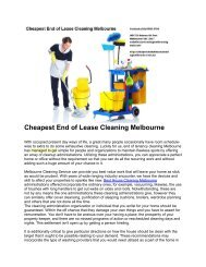 cheapest of Lease Cleaning Service Melbourne 1