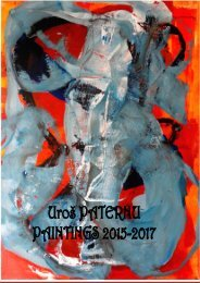 Become a collector of PATERNU's paintings, 2015-2017