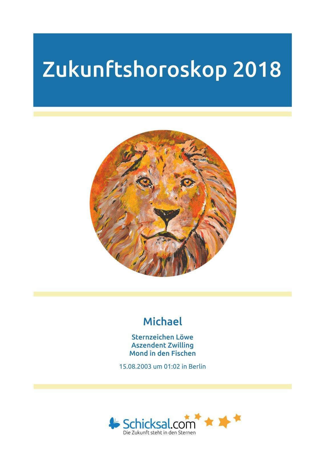 Löwe Zukunftshoroskop 2018