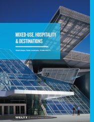 Mixed-Use, Hospitality & Destinations
