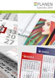 Kalender, Werbekalender 2019