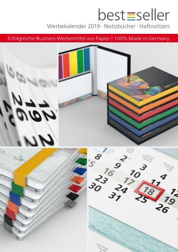 Kalender, Werbekalender, Werbe-Notizbücher, individuell