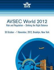 AVSEC World 2012 - IATA