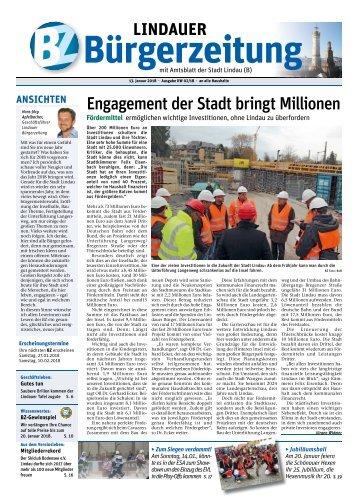 13.01.2018 Lindauer Bürgerzeitung