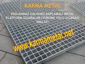 KARMA METAL metal izgara nedir ne icin kullanilir depo santiye fabrika metal izgaralari
