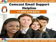 COMCAST EMAIL SUPPORT NUMBER USA +1-844-219-9272 | Toll Free