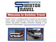 16 Seater Minibus Hire in Manchester