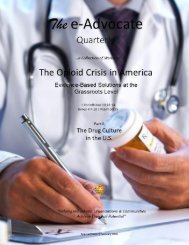 The Opioid Crisis in America - Part II (The Drug Culture in the U.S.)