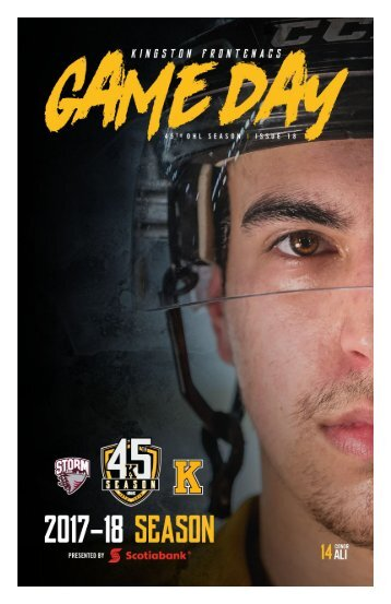 Kingston Frontenacs GameDay January 12, 2018