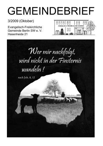 Fürbitte - Evangelisch - Freikirchliche Gemeinde Berlin - Hasenheide