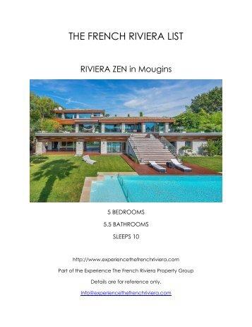 Riviera Zen - Mougins
