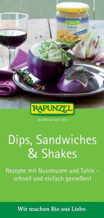 Tahin Dip mit Orange - Rapunzel