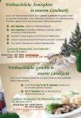 Weihnachtlich genießen in unserer Landfleischerei - Seite 3
