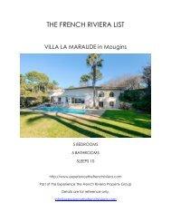 Villa La Maraude - Mougins