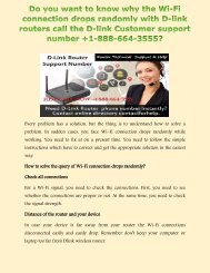Get +1-888-664-3555 D-Link router Customer Help Number