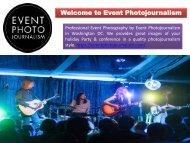 Event Photographers in Washington DC