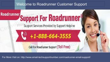 Roadrunner Email Technical Support Number +1-888-664-3555
