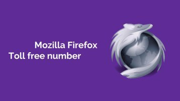 Mozilla Firefox Toll free number | customer service