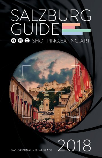 Salzburg Guide 2018 - Shopping.Eating.Art