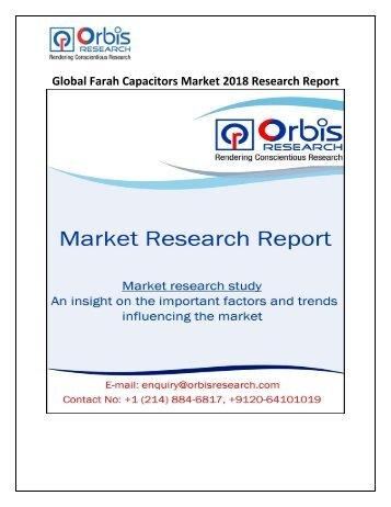 Global Farah Capacitors Market 2018 Analysis & Forecast Report 2025