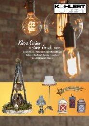 Kahlert Licht Katalog 2018
