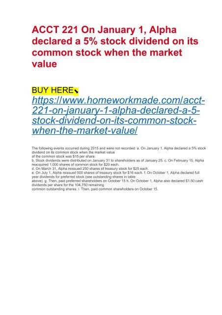 The Best C Stock Dividend Frae Kmu End T