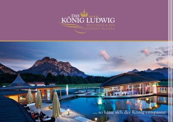 König Ludwig Imagebroschüre