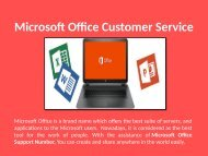 Microsoft Office Customer Support 1-888-909-0535 USA