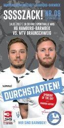 SSSSZACK! HGHB vs. MTV Braunschweig