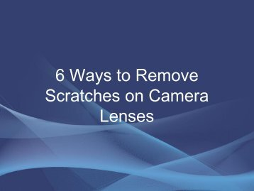 remove-scratch-lenses