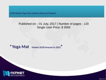 2018 Global Yoga Mat Industry Research Report