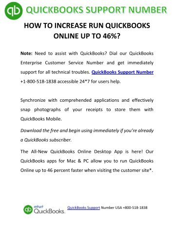 How to Run QuickBooks Online up to 46