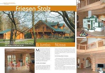 Nüsse & Jumbo - Naturstammhaus Loeffler