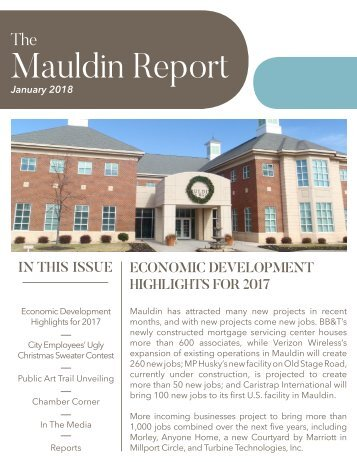 January 2018 Mauldin Report
