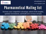 Pharmaceutical Mailing list