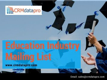 Education Industry Mailing List (1)