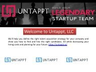 Recruitment Company for Start Ups