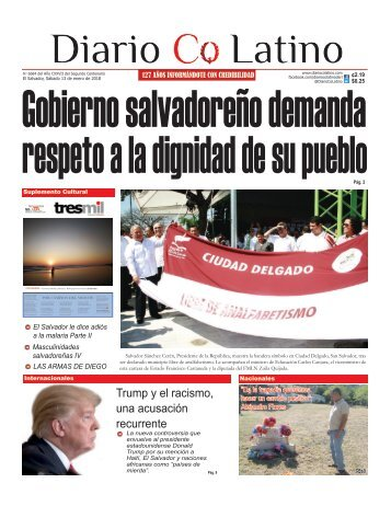 Edición 13 de enero de 2018