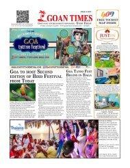 GoanTimes January, 12th 2018 Issue