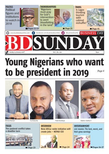 BusinessDay 14 Jan 2018