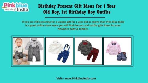 Baby Boy First Birthday Dresses 1st Birthday Gift Set