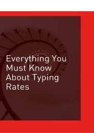 Everything You Should Know About Typing Rates