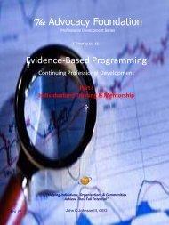 Professional Development - Vol. IV, Part I