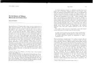 On the Nature of Things: Nietzsche and Democritus - University of ...