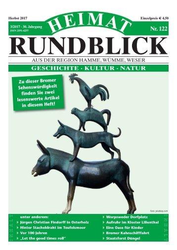 Heimat-Rundblick Nr. 122 Herbst 2017
