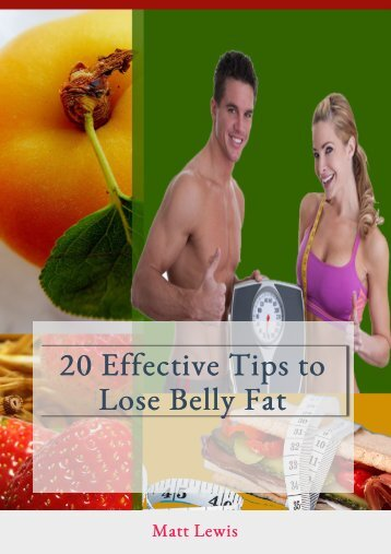 20 Effective Tips to Lose Belly Fat